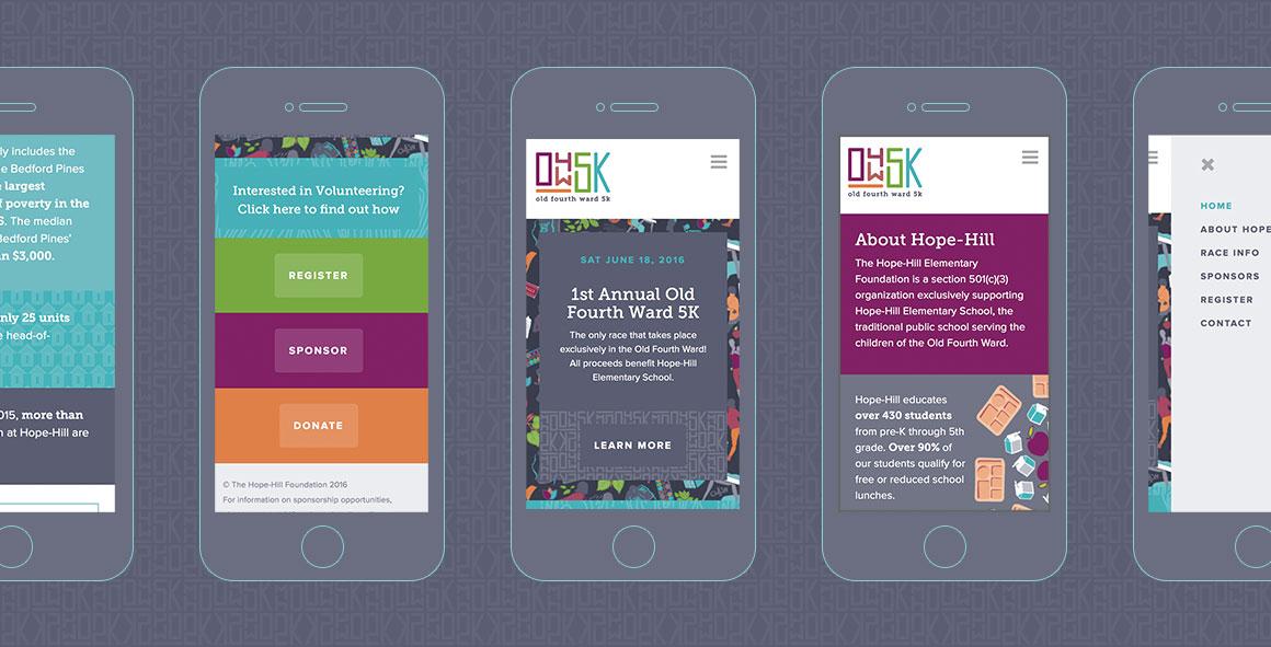 O4W5K website homepage