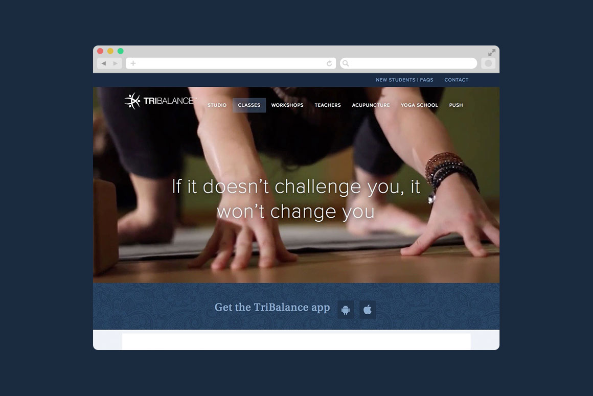 TriBalance website