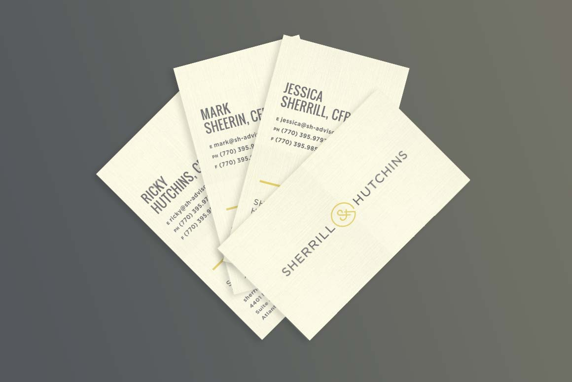 Sherrill & Hutchins business cards