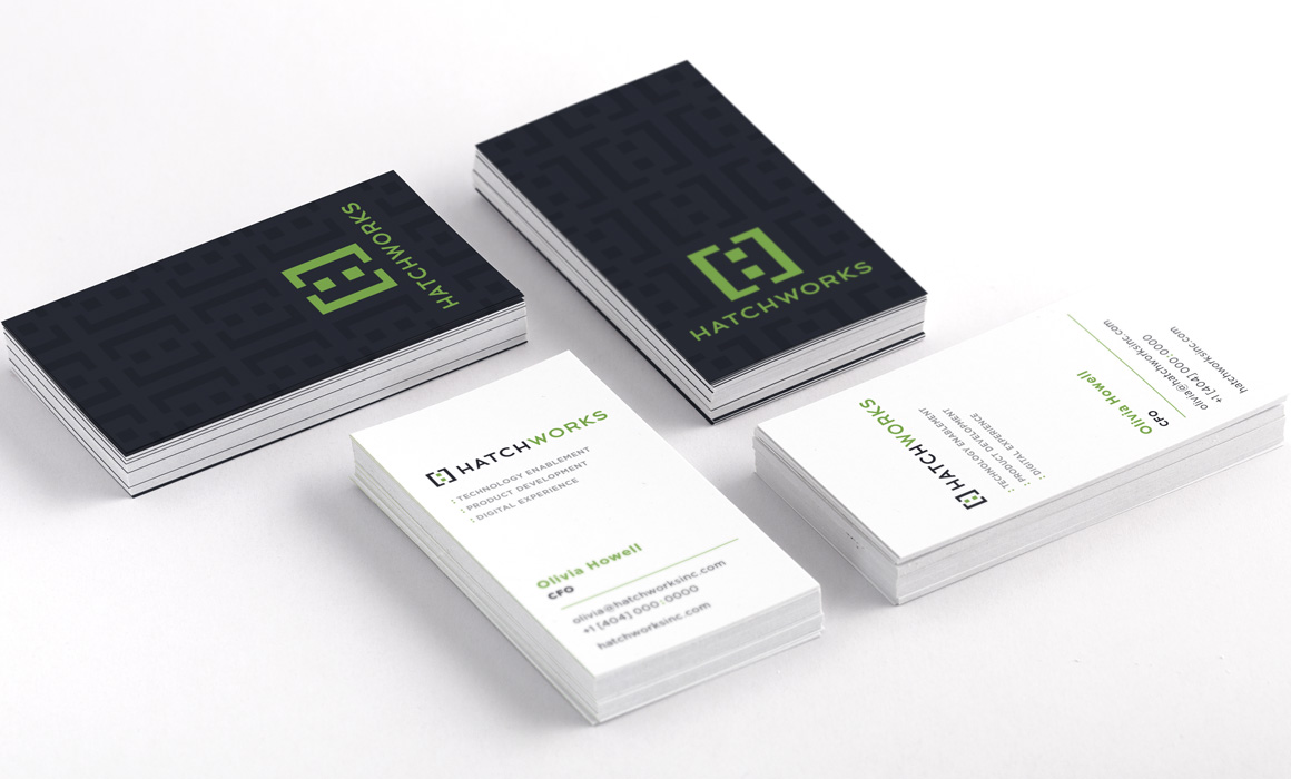 Hatchworks business cards